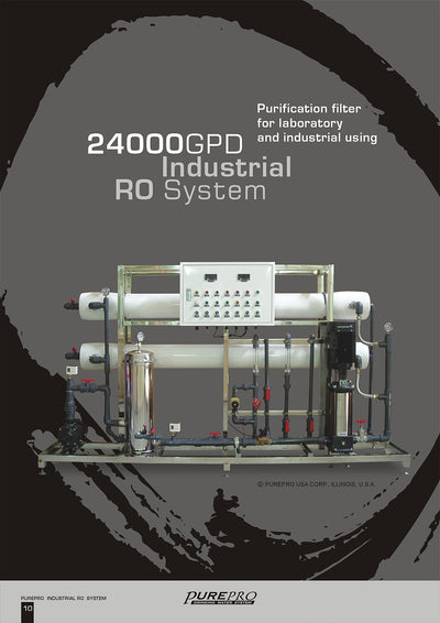 PurePro® USA Industrial Reverse Osmosis System, Commercial RO System RO24000