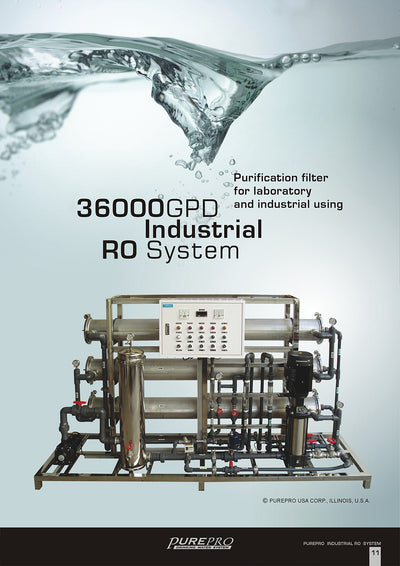 PurePro® USA Industrial Reverse Osmosis System, Commercial RO System RO36000
