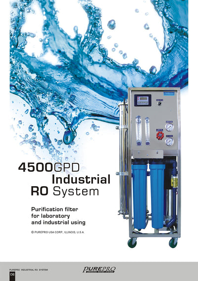 PurePro® USA Industrial Reverse Osmosis System, Commercial RO System RO4500