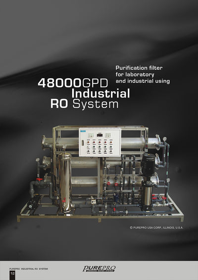 PurePro® USA Industrial Reverse Osmosis System, Commercial RO System RO48000