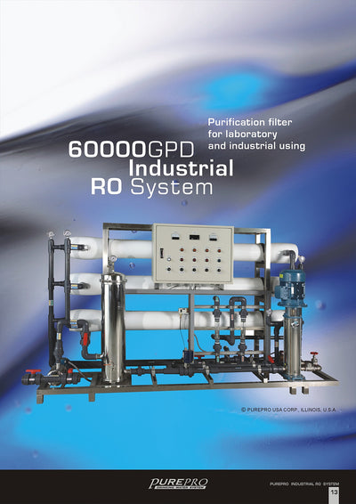 PurePro® USA Industrial Reverse Osmosis System, Commercial RO System RO60000
