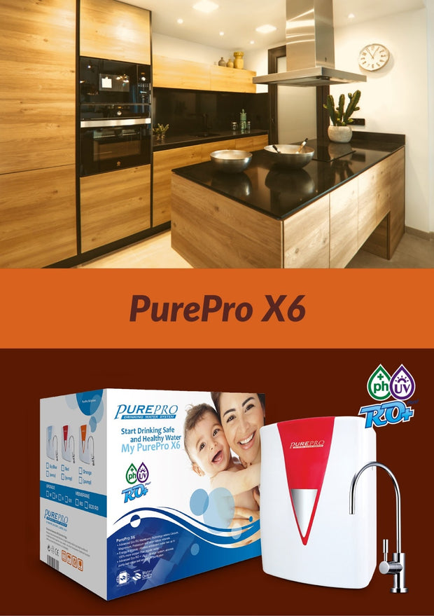PurePro® USA Reverse Osmosis Water Filter System X6