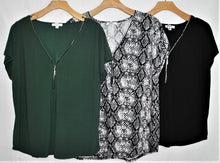 Load image into Gallery viewer, SS Fashion Top $4.50/pc   Price per 12pc pack