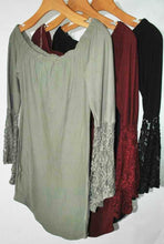 Load image into Gallery viewer, Bell Sleeve Dress $4.90/pc   Price per 12pc pack