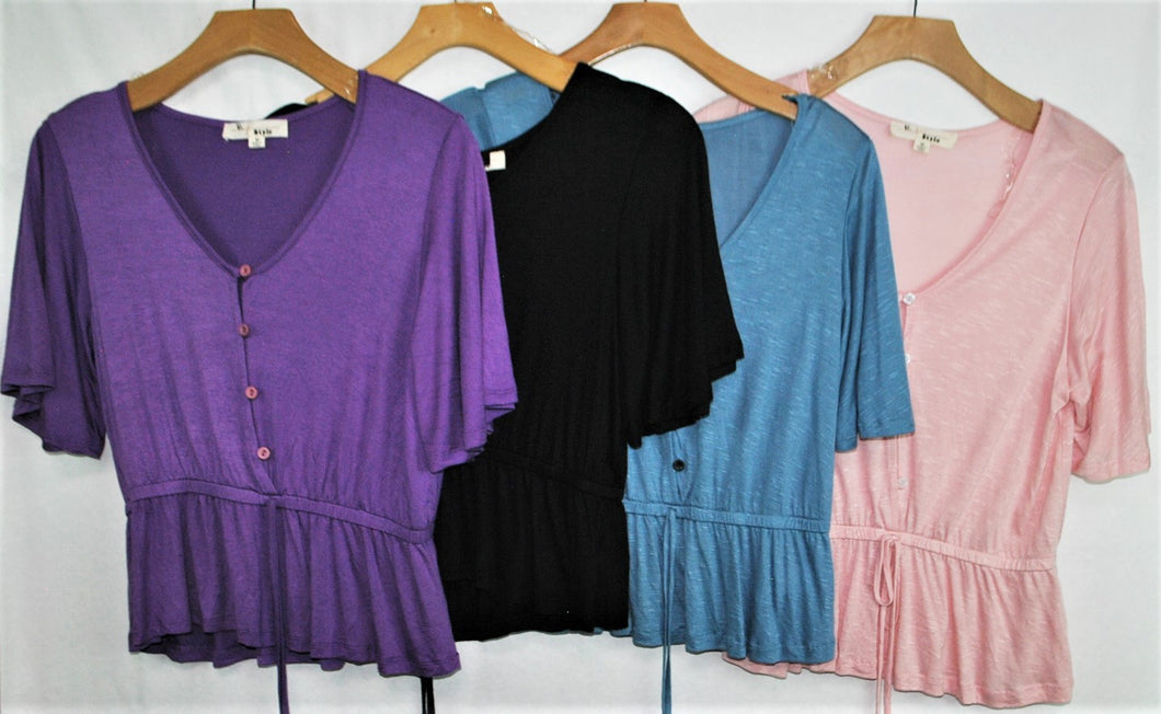 SS Fashion Top $4.00/pc  Price per 12pc pack