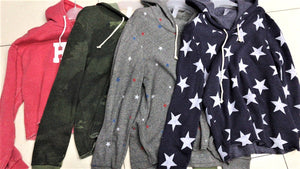 Novelty Fleece Hoodies $7.50/pc  Price per 12pc pack