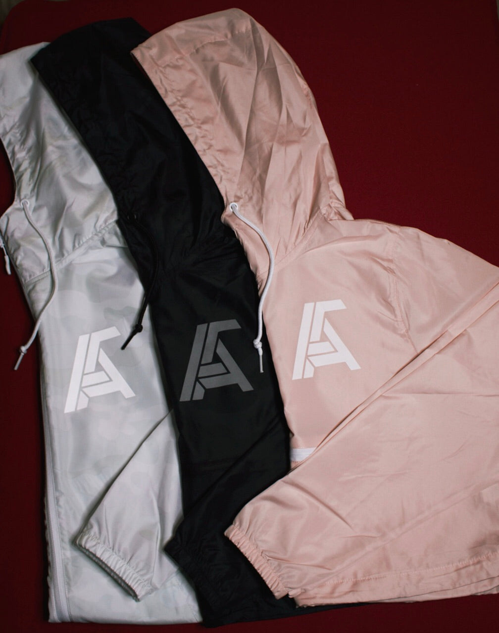 Ambitious Reflective Crop Windbreaker