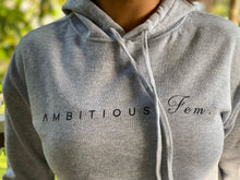 Load image into Gallery viewer, Ambitious Fem. Crop Hoodie