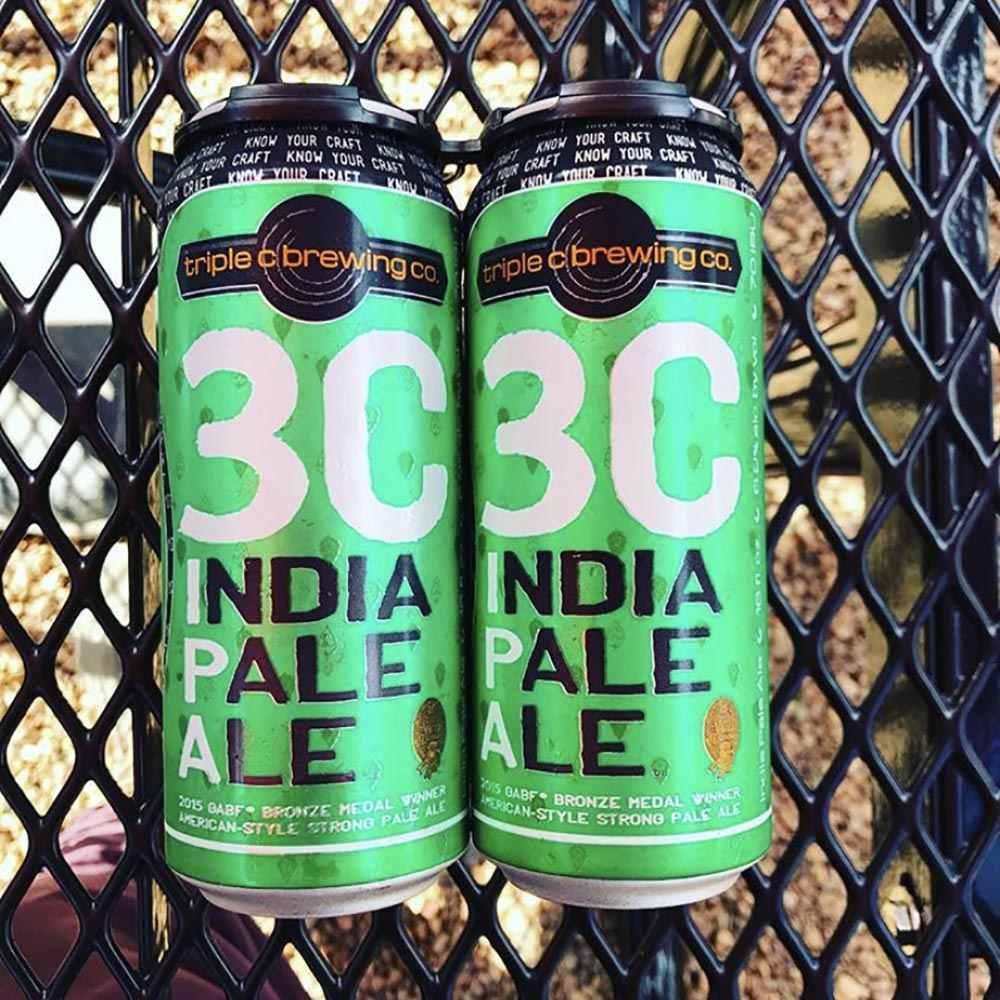Triple C Brewing - 3C IPA (4-Pack)