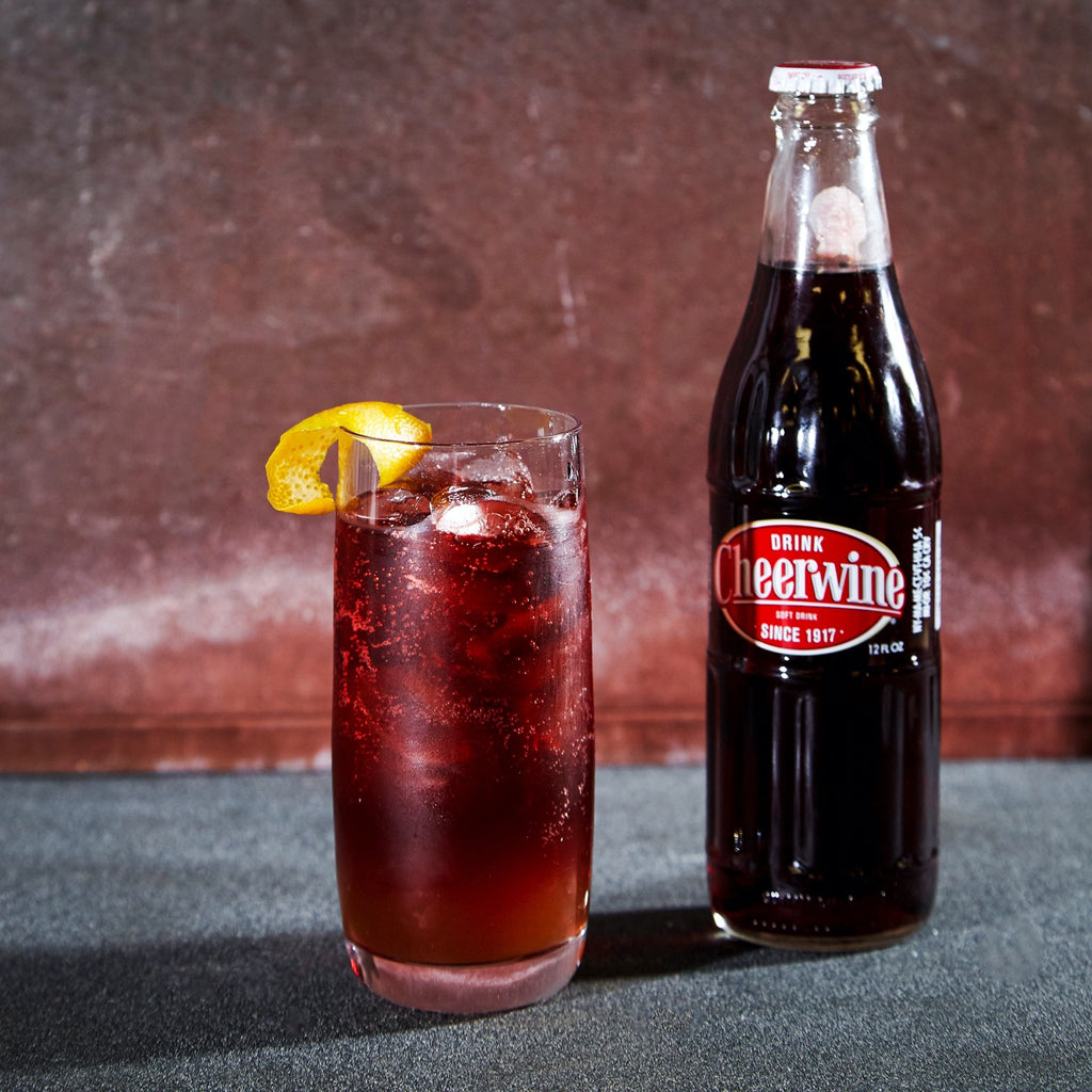 Cheerwine Old Fashioned Cocktail Mix