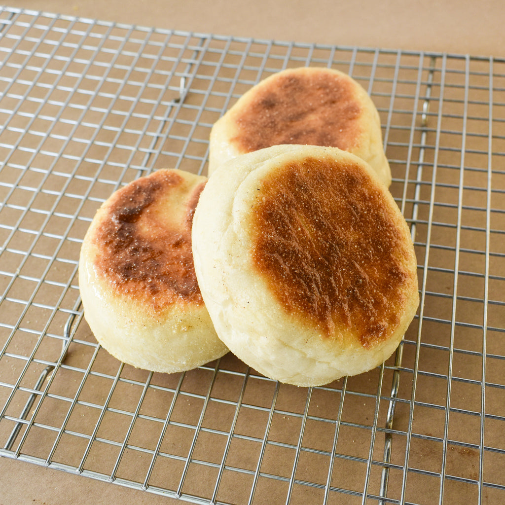 House-Made English Muffins with Seasonal Artisan Butter