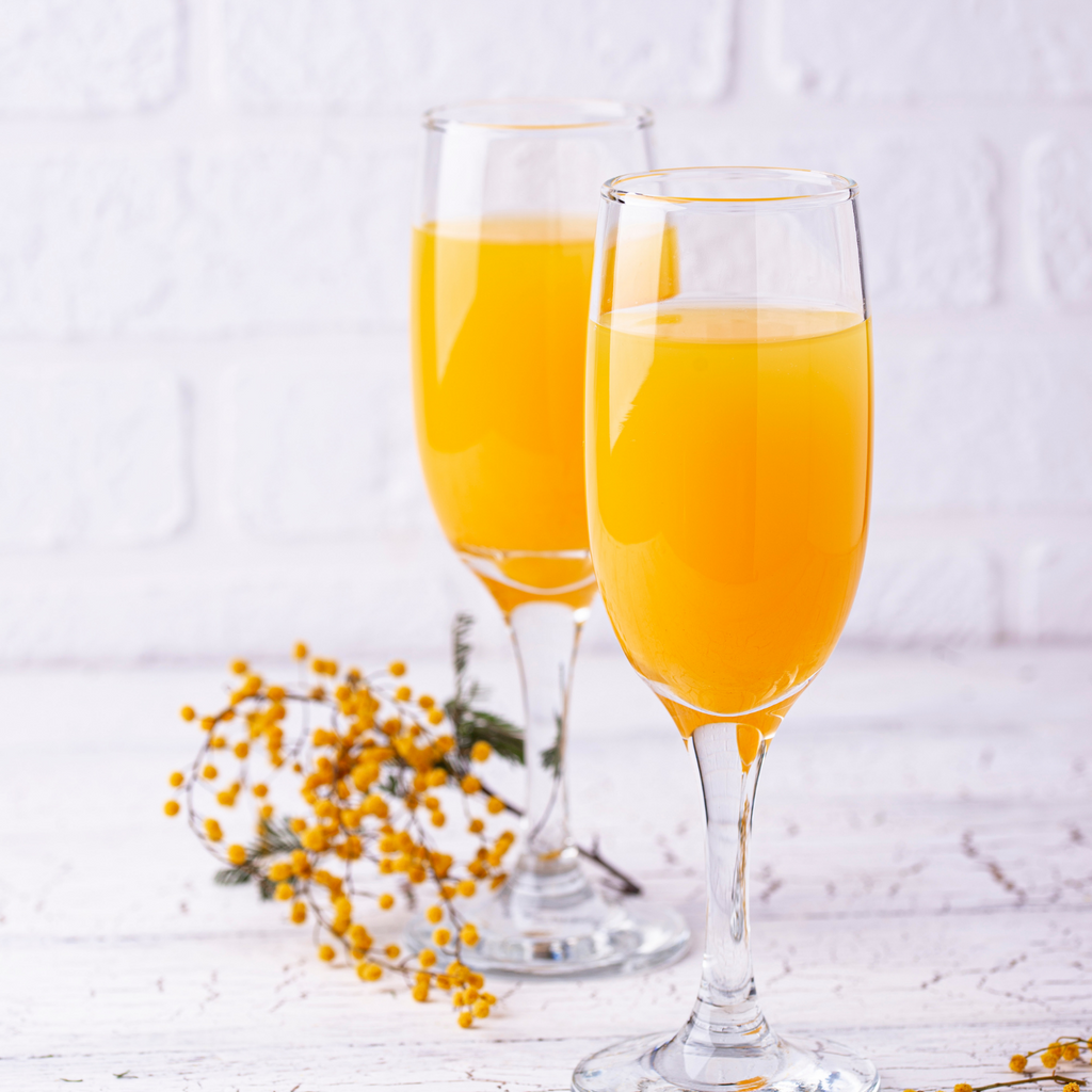 Fresh Squeezed Orange Juice Mimosas