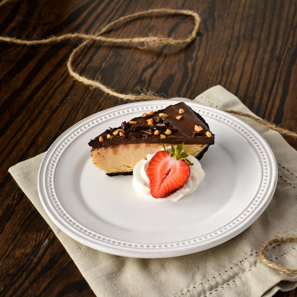 Chocolate Peanut Butter Pie Slice