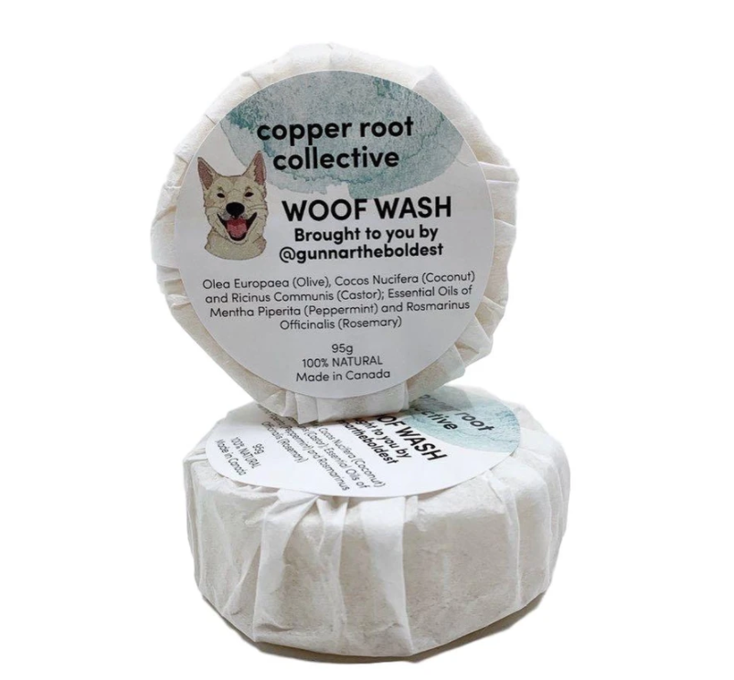 Copper Root Collective Woof Wash Shampoo Bar