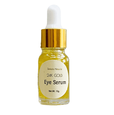 24K Gold Coffee-Saffron Eye Serum - Zemala Natur'el