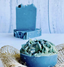 Load image into Gallery viewer, Zemala Natur'el Herbal Soap Bars Blue Spirulina Apple Lover Soap Bar