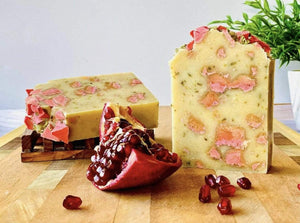 Zemala Natur'el Herbal Soap Bars Pomegranate Oatmeal Apple Lover Soap Bar