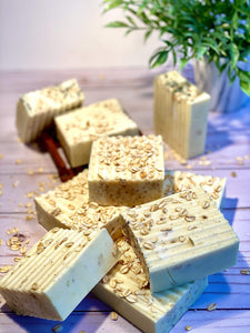Raw Honey Oatmeal Soap - Zemala Natur'el
