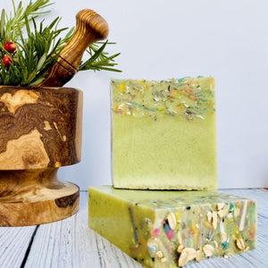 Zemala Natur'el Herbal Soap Bars Spirulina Apple Apple Lover Soap Bar