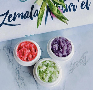 Natural Herbal Lip Scrubs - Zemala Natur'el