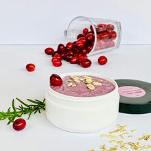Load image into Gallery viewer, Cranberry-Oatmeal Face Scrub - Zemala Natur'el