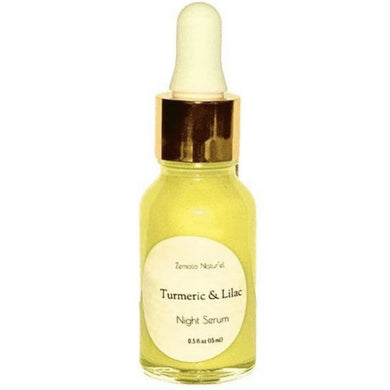 Turmeric Night Face Serum - Zemala Natur'el