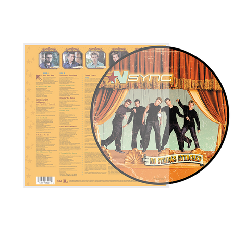 No Strings Attached Anniversary Edition Picture Disc