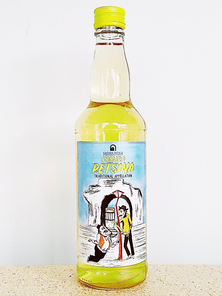 Kamara Kioutsouki Estate, Retsina - 500ml