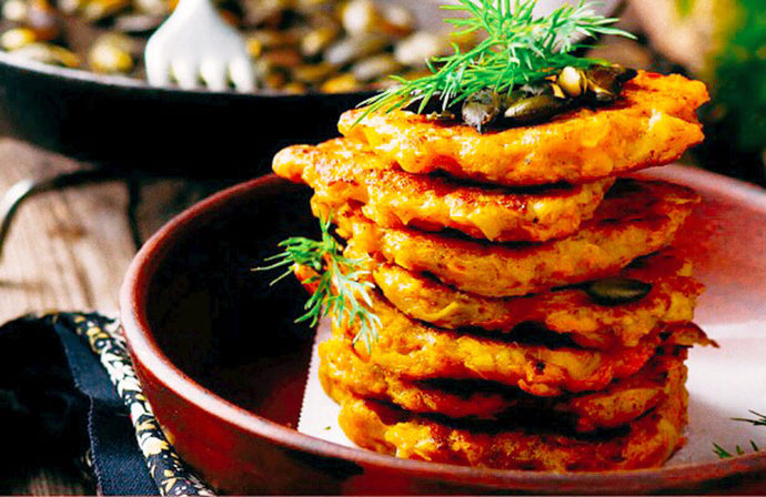 Mashed African Yam Fritters