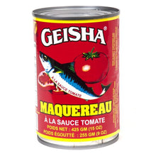 Load image into Gallery viewer, Geisha Canned Mackerel
