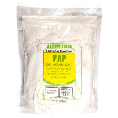 Pap (Fermented Corn Flour) - At Home Foods