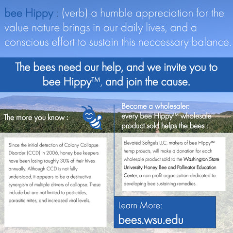 bee hippy save the bees