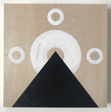 Load image into Gallery viewer, Original Acrylic Painting on Wood Panel - Black Mountain
