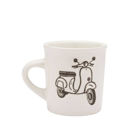 Cuppa This Cuppa That Moped Mug