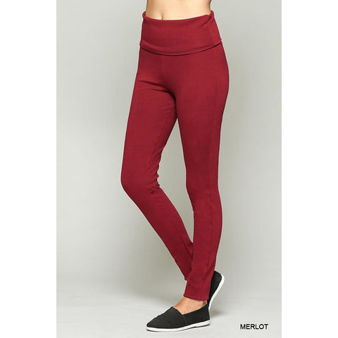 Merlot Leggings