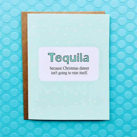 Tequila Christmas Card