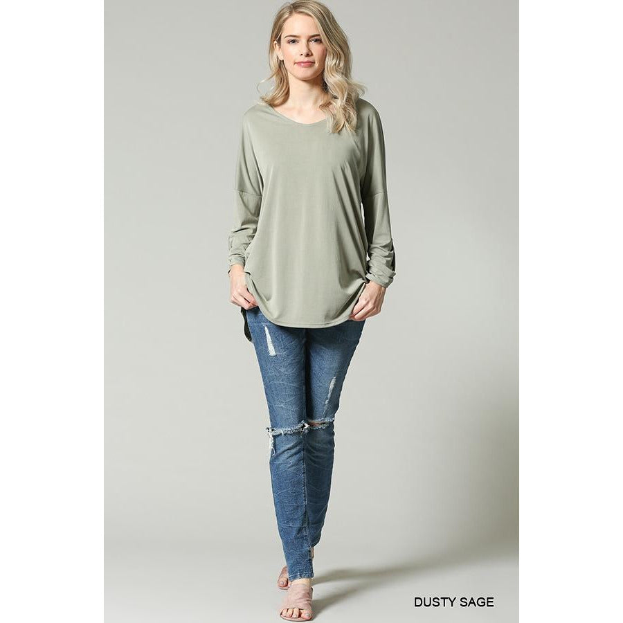 Dusty Sage Tunic