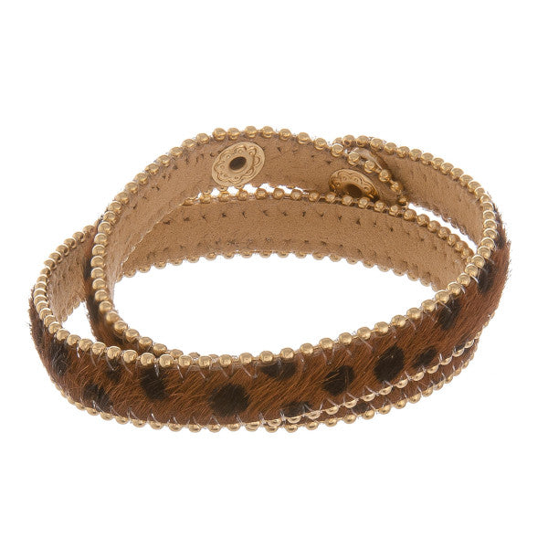 Animal Double Wrap Bracelet