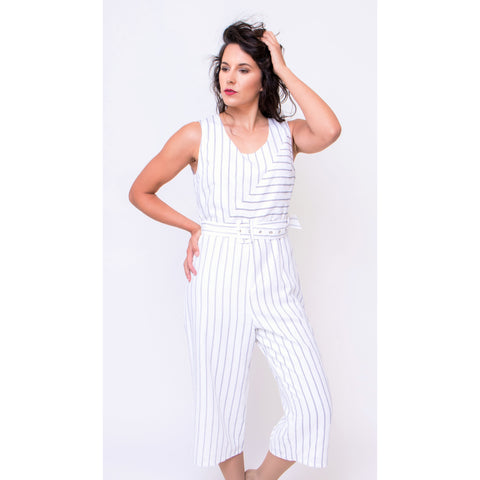 Soraya Striped Jumpsuit