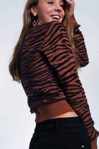 Tiger sweater by Q2