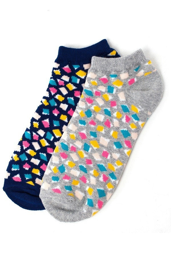 Assorted Womans Socks 2-Pack