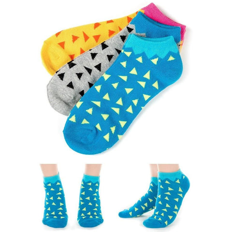 Assorted Womans Socks 3-Pack