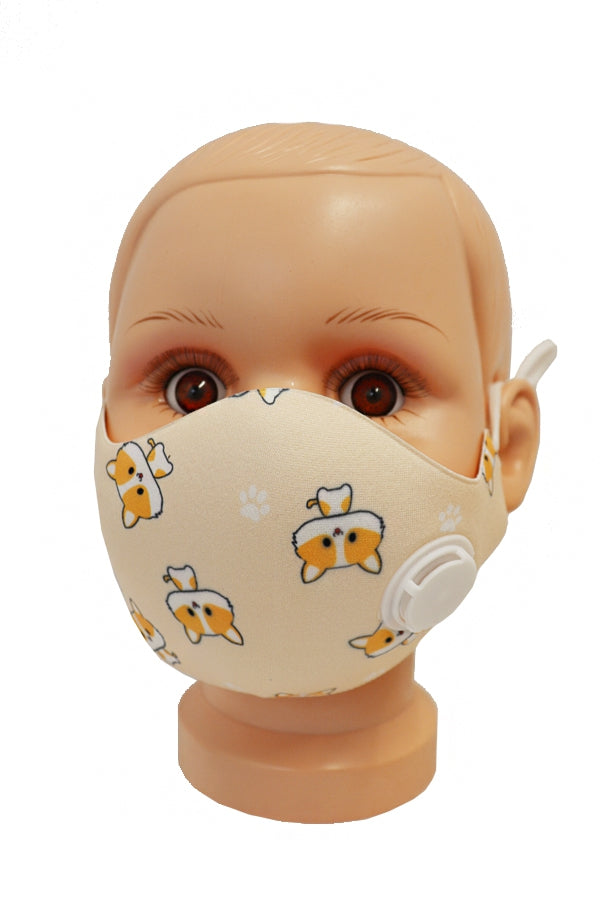 Kids Mask: Neoprene with valve