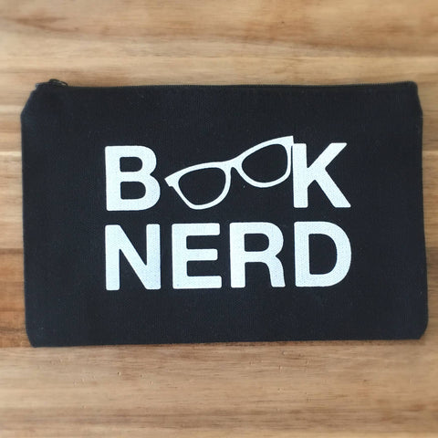 Book Nerd Pencil Pouch