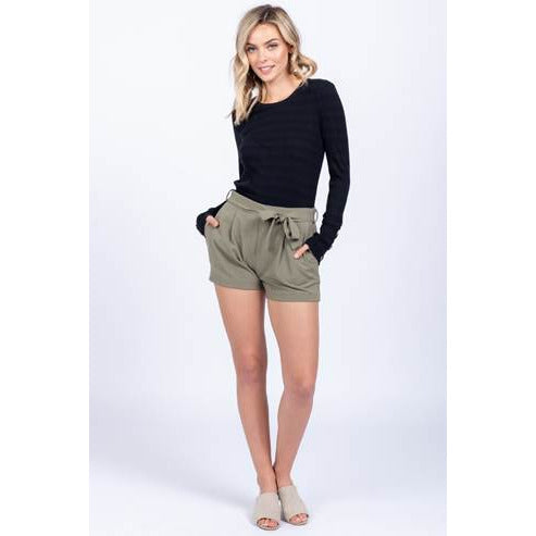 Belted Shorts by Everly