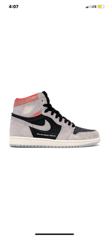 "Air Jordan 1 ""Neutral Grey Orange"" *Used*"