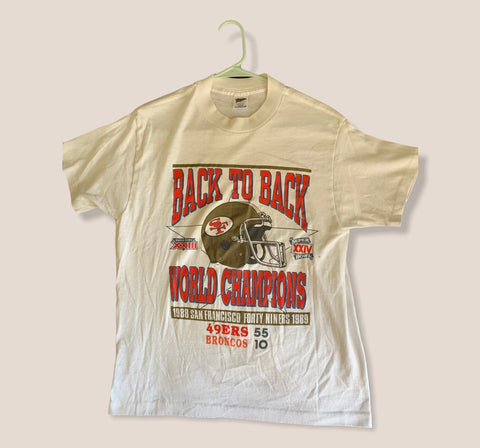 Vintage 1988 Back to Back 49ners Tee