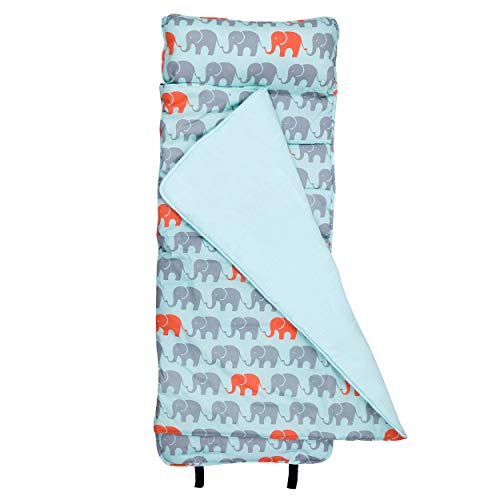 Wildkin Nap Mat with Pillow for Toddler Boys and Girls, Perfect Size for Daycare and Preschool, Designed to Fit on a Standard Cot, Patterns Coordinate with Our Lunch Boxes and Backpacks