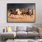 "NWT Framed Canvas Wall Art for Living Room, Bedroom Horse Canvas Prints for Home Decoration Ready to Hanging - 24""x36"" inches"