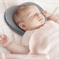 Baby Pillow for Newborn Infant,Head Shaping Pillow for Flat Head Syndrome Prevention,3D Memory Foam for Head and Neck Support Pillow,Heart Shaped (0-12 Months)